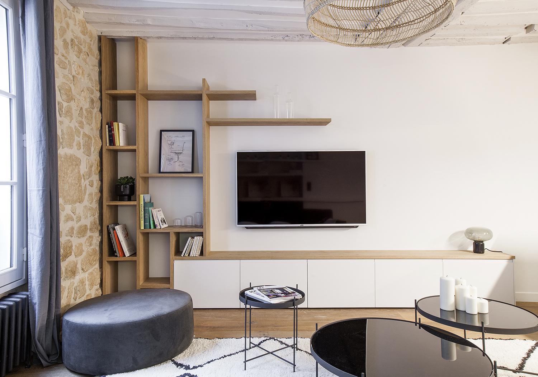 appartement paris 6 me 50m ouest home entreprise g n rale et architecture d int rieur paris. Black Bedroom Furniture Sets. Home Design Ideas