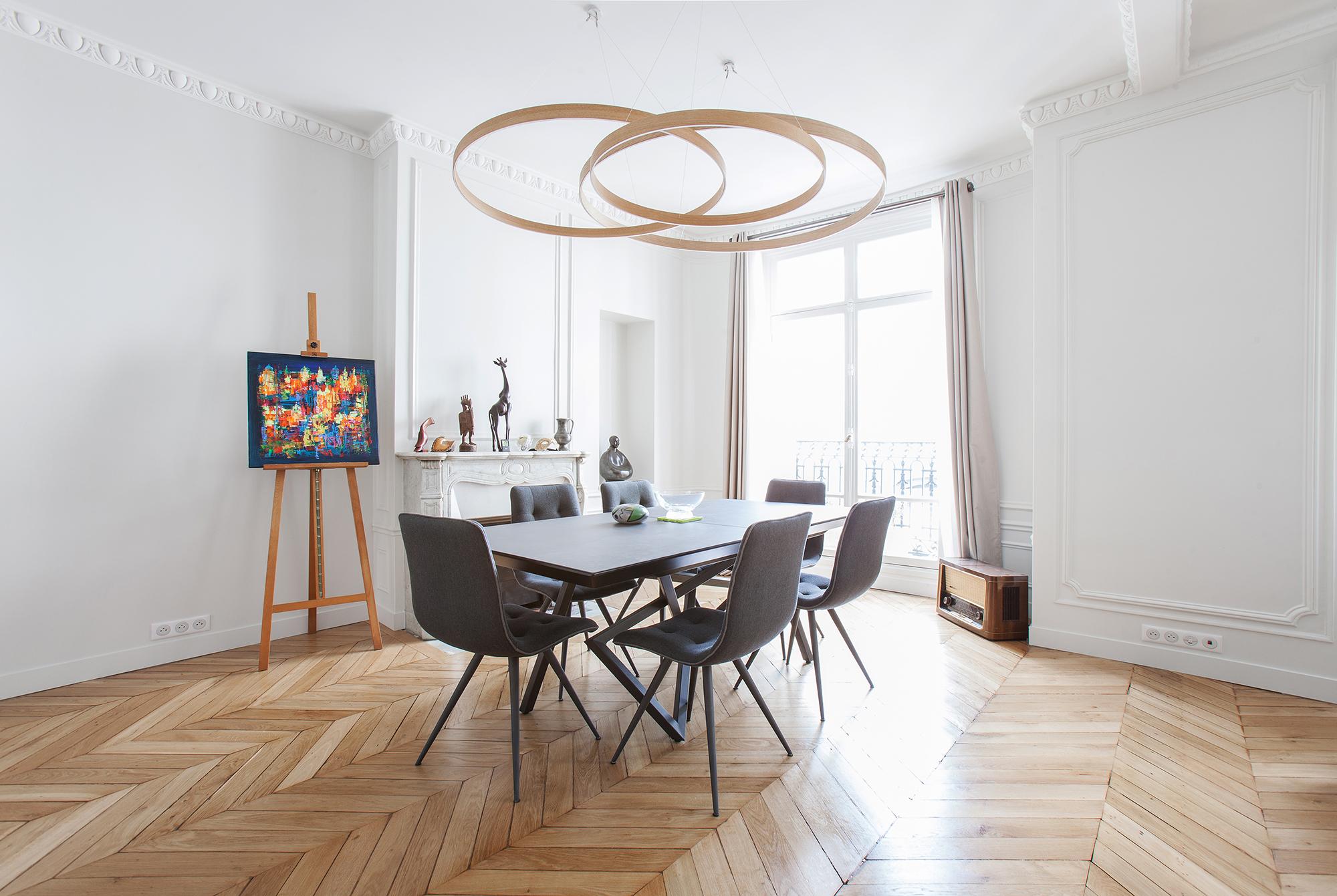 Salle A Manger Paris rénovation appartement paris 8ème – 190m2 | ouest home