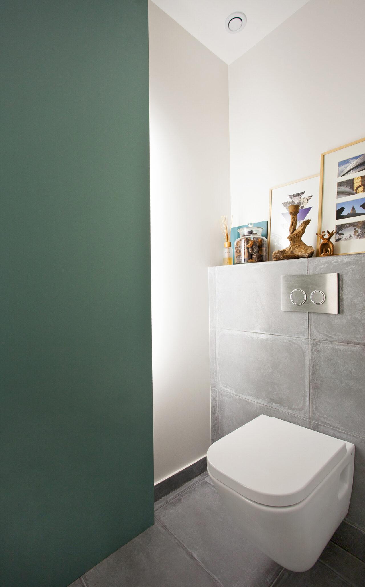 Toilette suspendue rétroéclairage