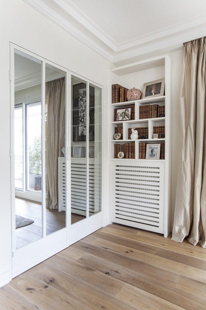 Cache radiateur design