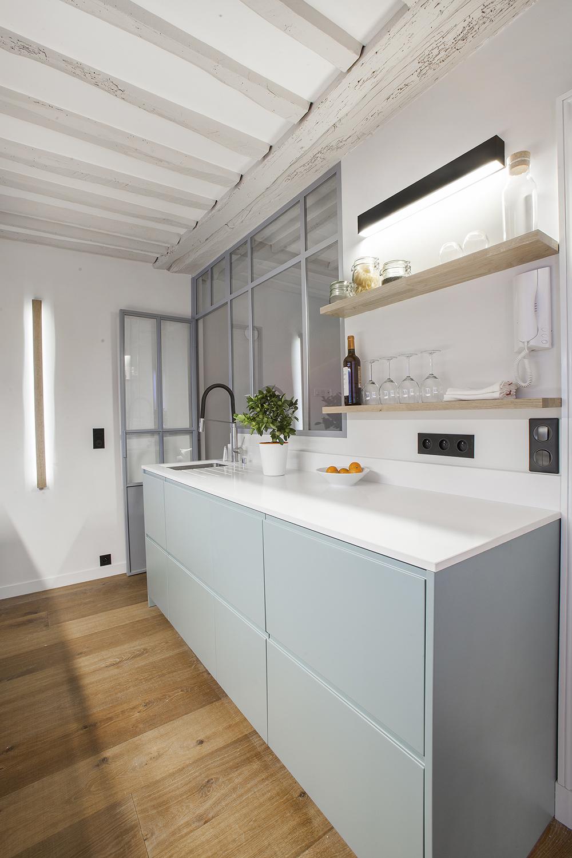 appartement paris 6 me 50m ouest home. Black Bedroom Furniture Sets. Home Design Ideas