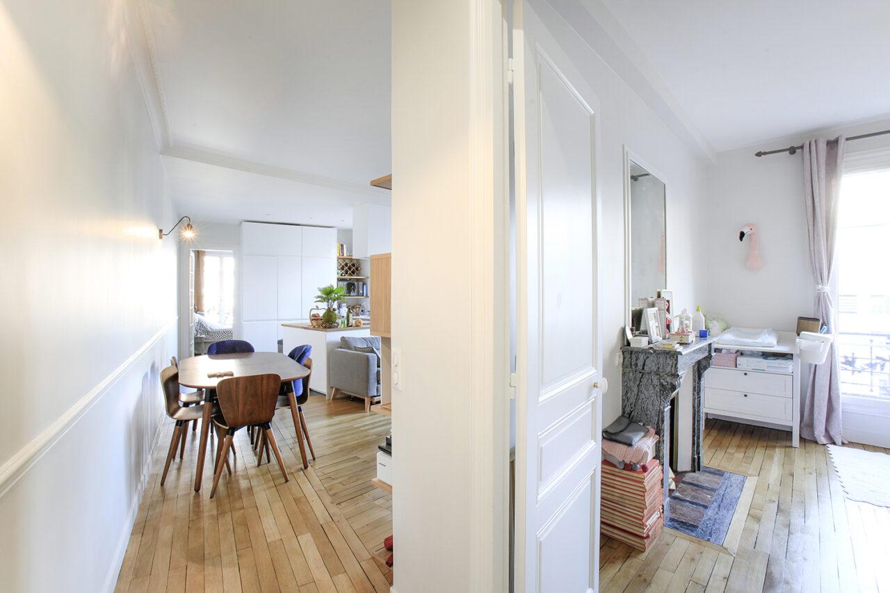 Appartement linéaire