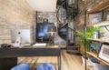 Escalier hélicoïdal bois et métal