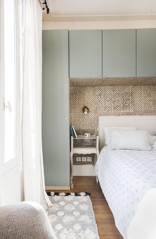 Tete de lit sur mesure papier peint decoratif