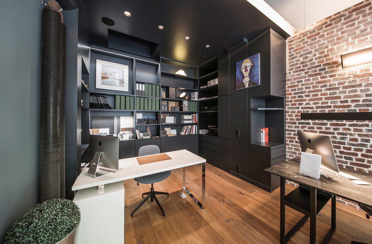 bureau bibliotheque sur mesure