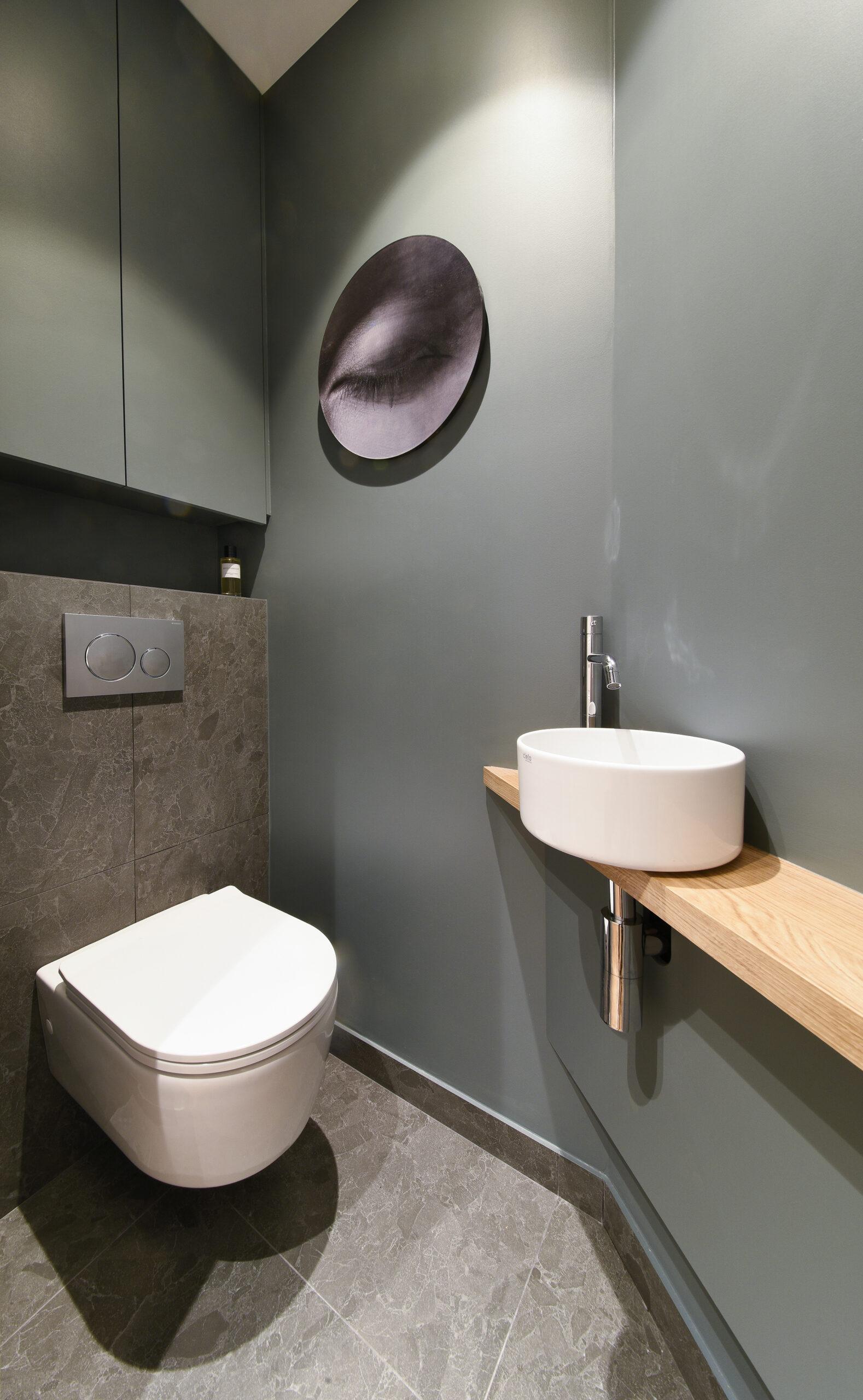 toilette suspendu petit meuble vasque